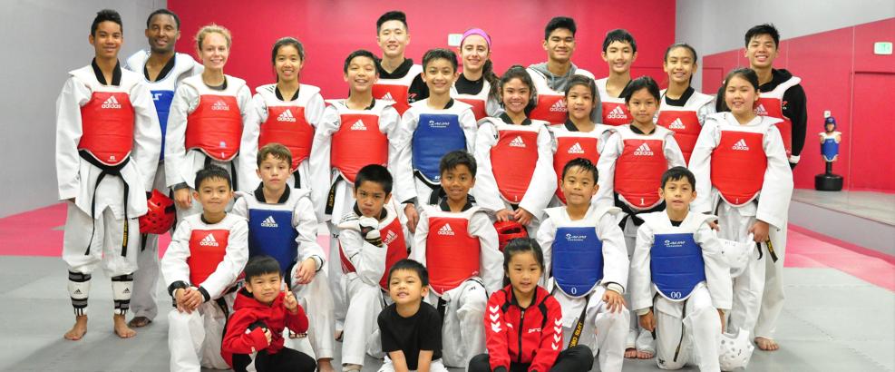 salim taekwondo students